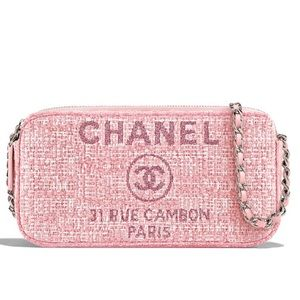 Coming soon chanel deauville double zip crossbody